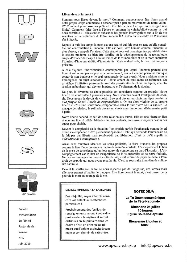 UPWnexs – diponible voir onglet
